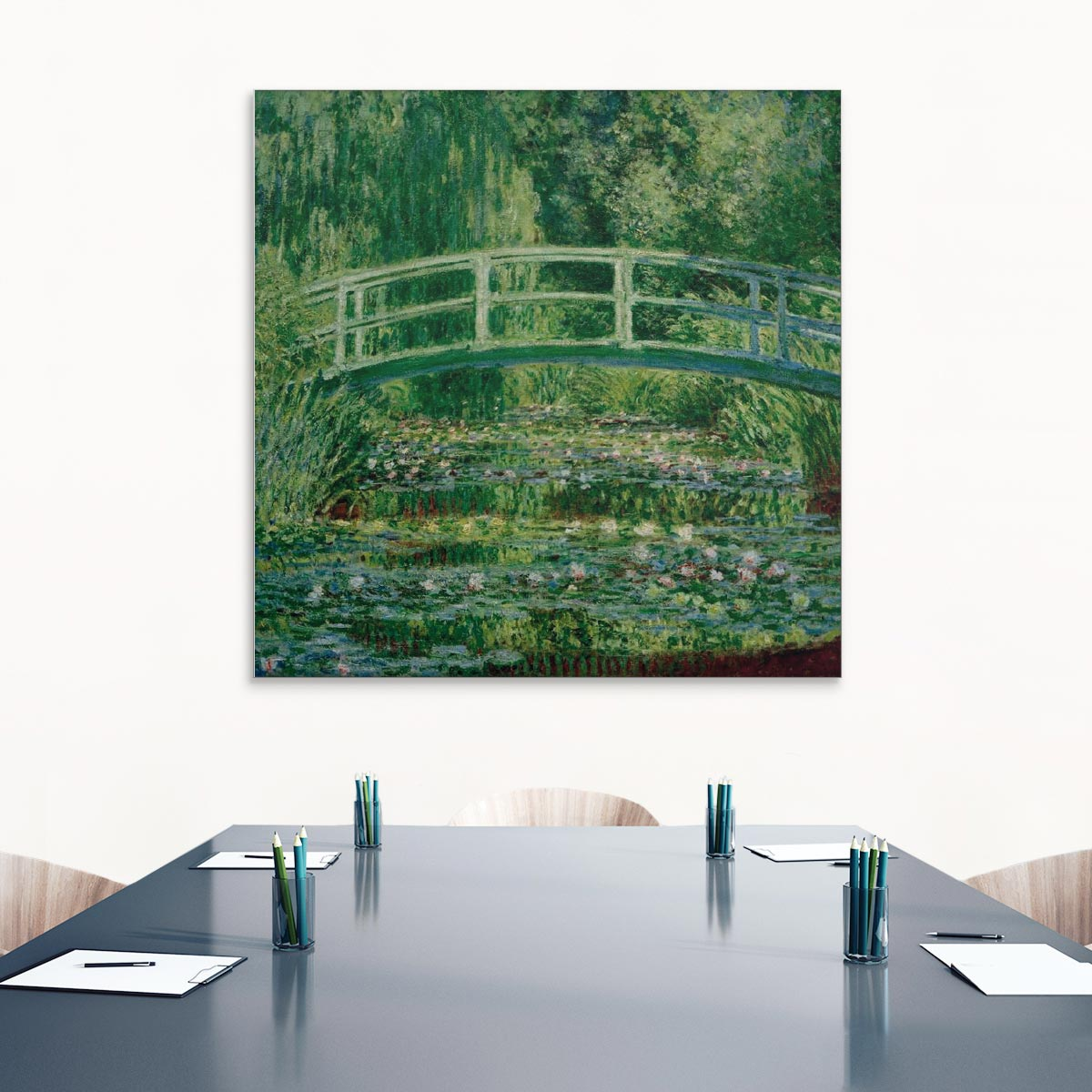 """Akustikbild """"Der Seerosenteich"""", Claude Monet"""