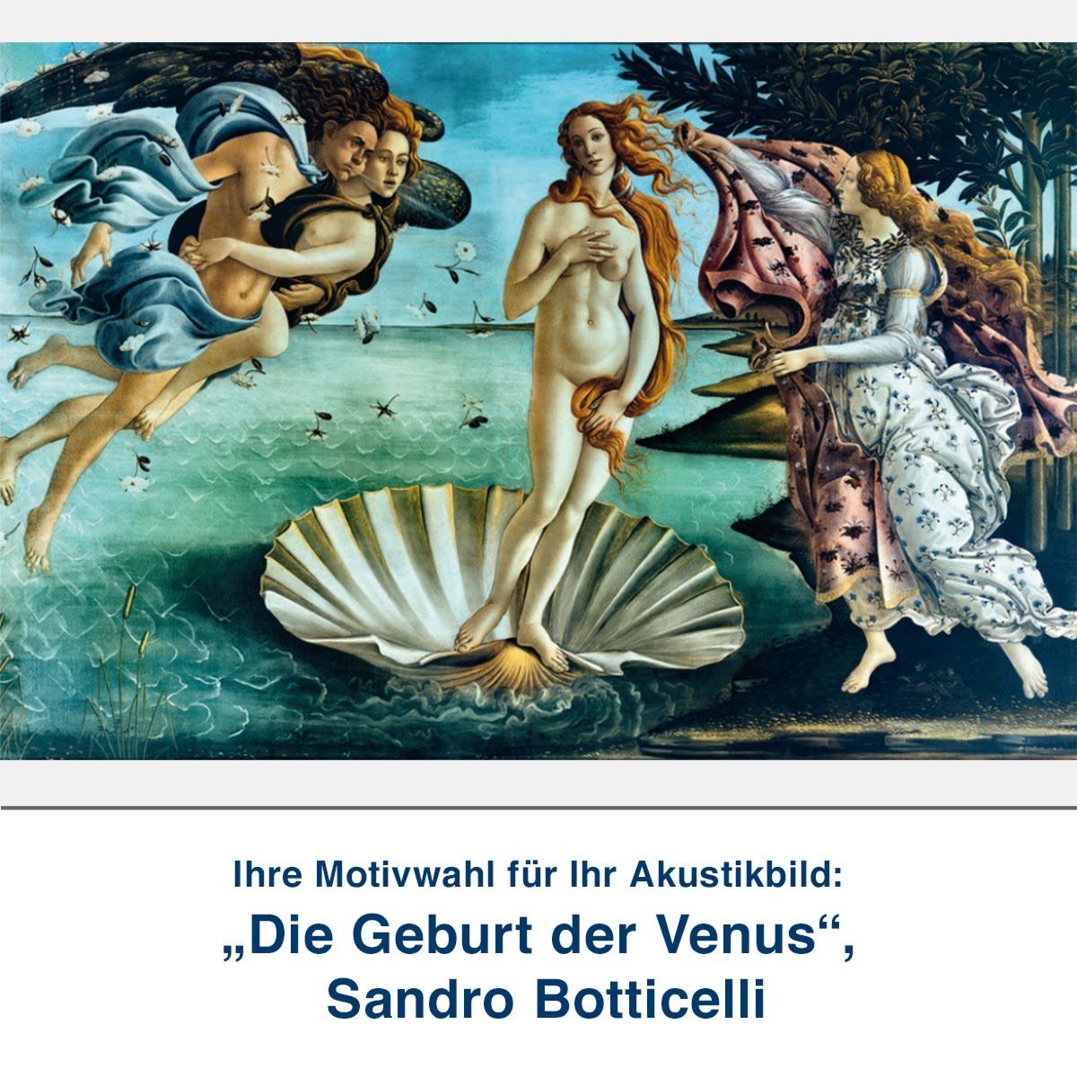 """""""Die Geburt der Venus"""", Sandro Botticelli"""