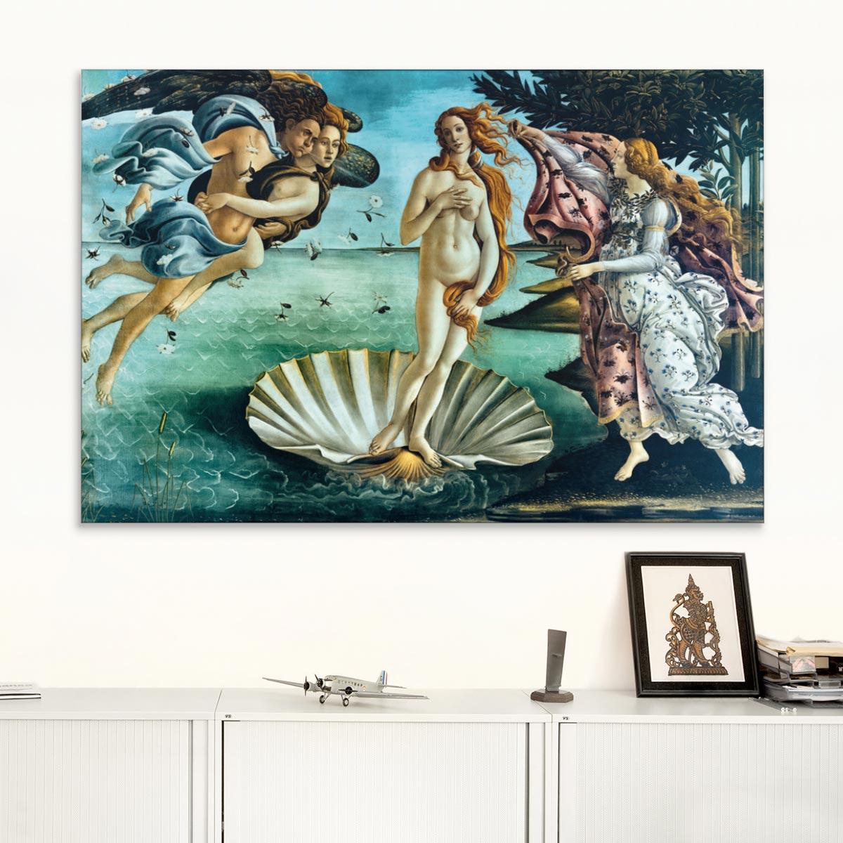 "Akustikbild ""Die Geburt der Venus"", Sandro Botticelli"