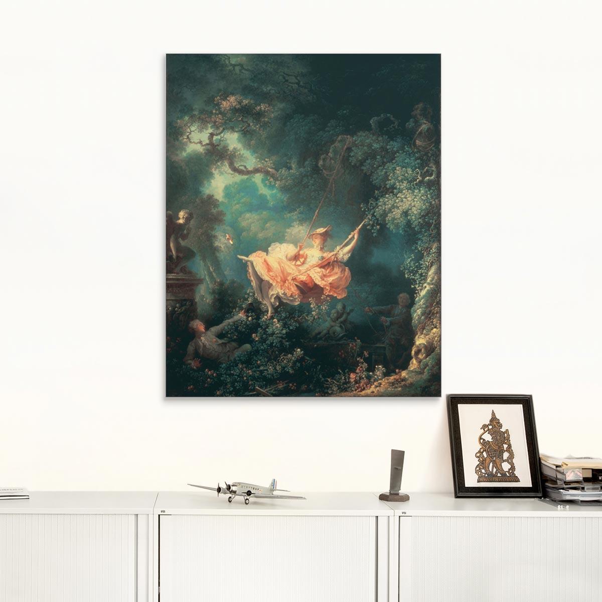 "Akustikbild ""Die Schaukel"", Jean-Honoré Fragonard"