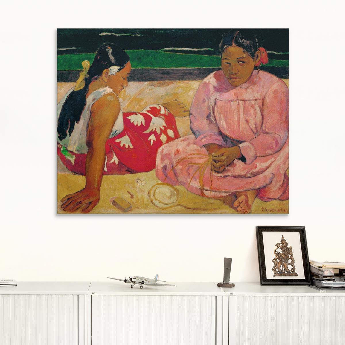 """Akustikbild """"Frauen auf Tahiti"""", Paul Gauguin"""