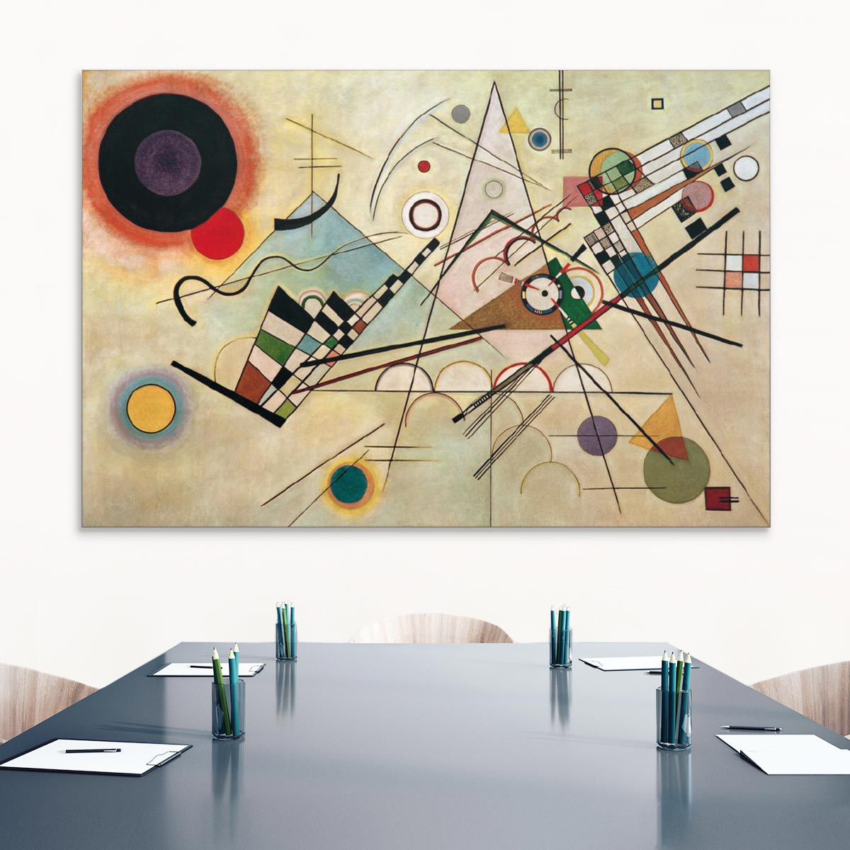 "Akustikbild ""Komposition VIII"", Wassily Kandinsky"