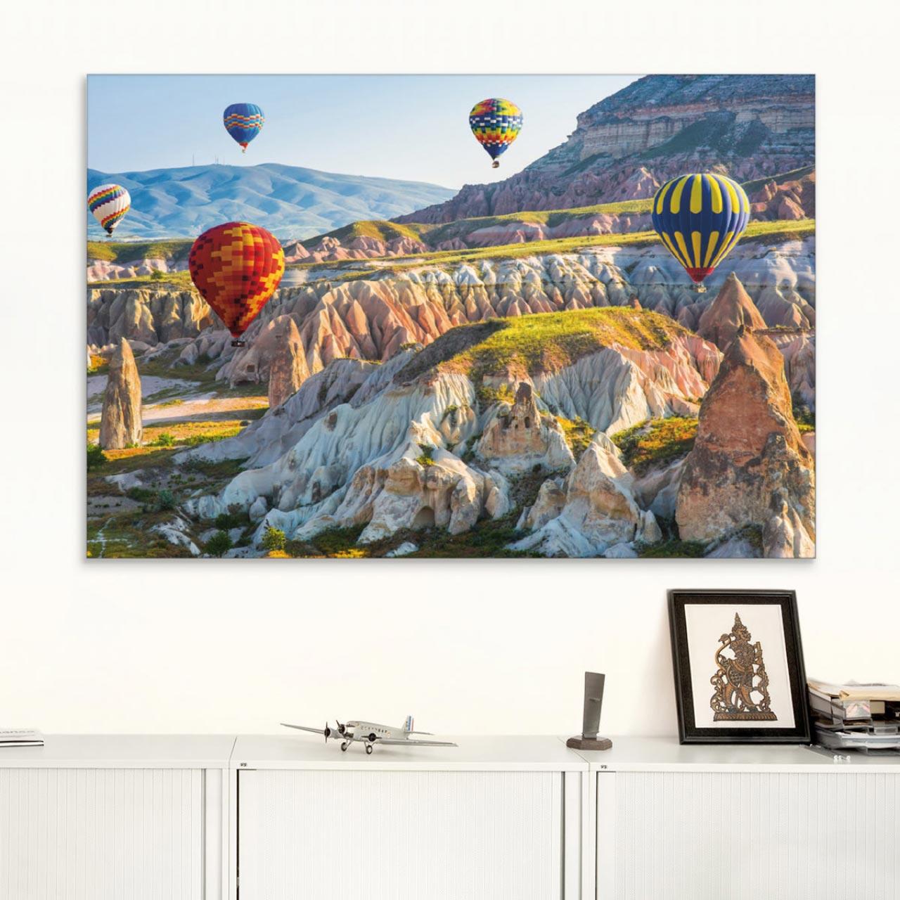 Akustikbild Ballons über Kappadokien II., Türkei