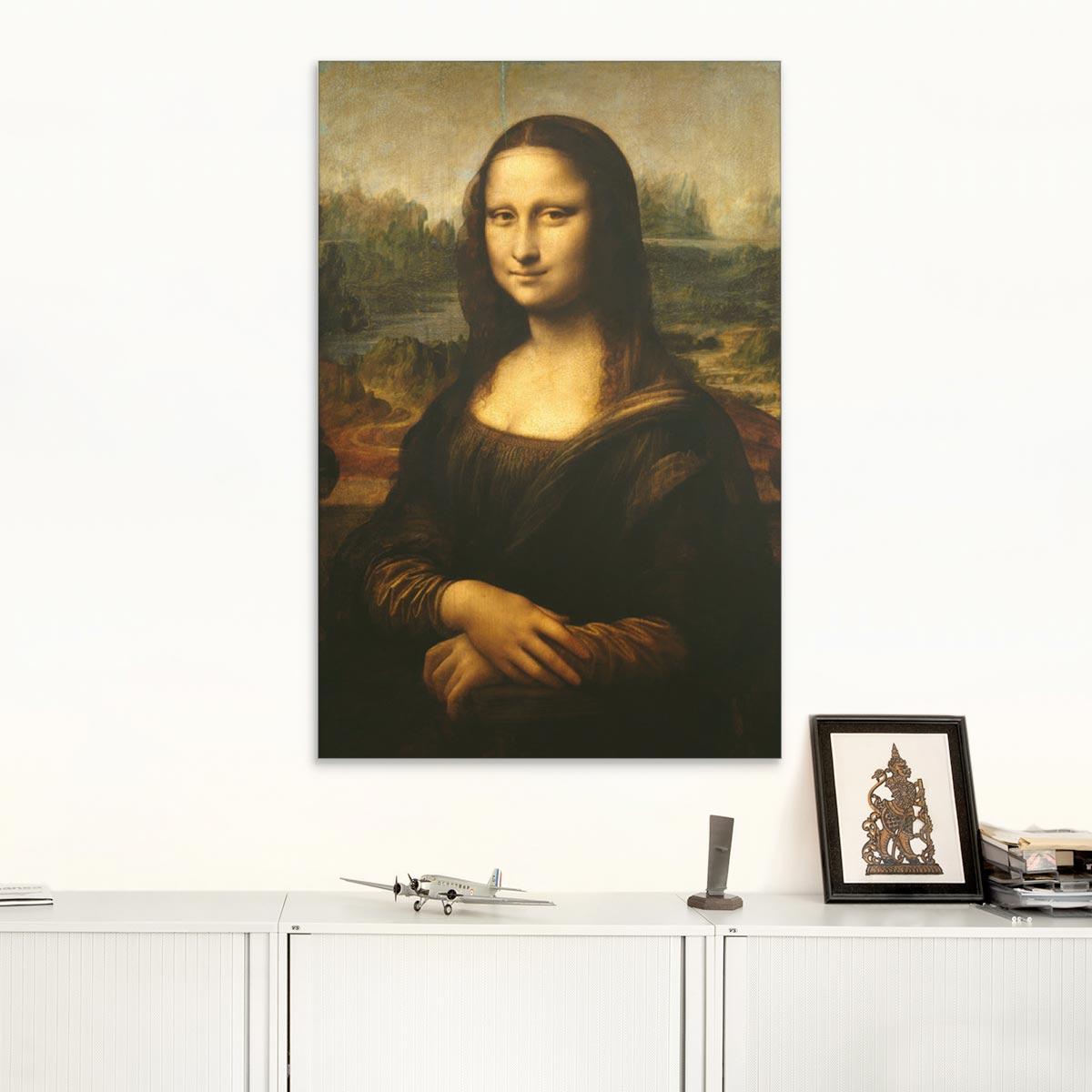 "Akustikbild ""Mona Lisa"", Leonardo da Vinci"
