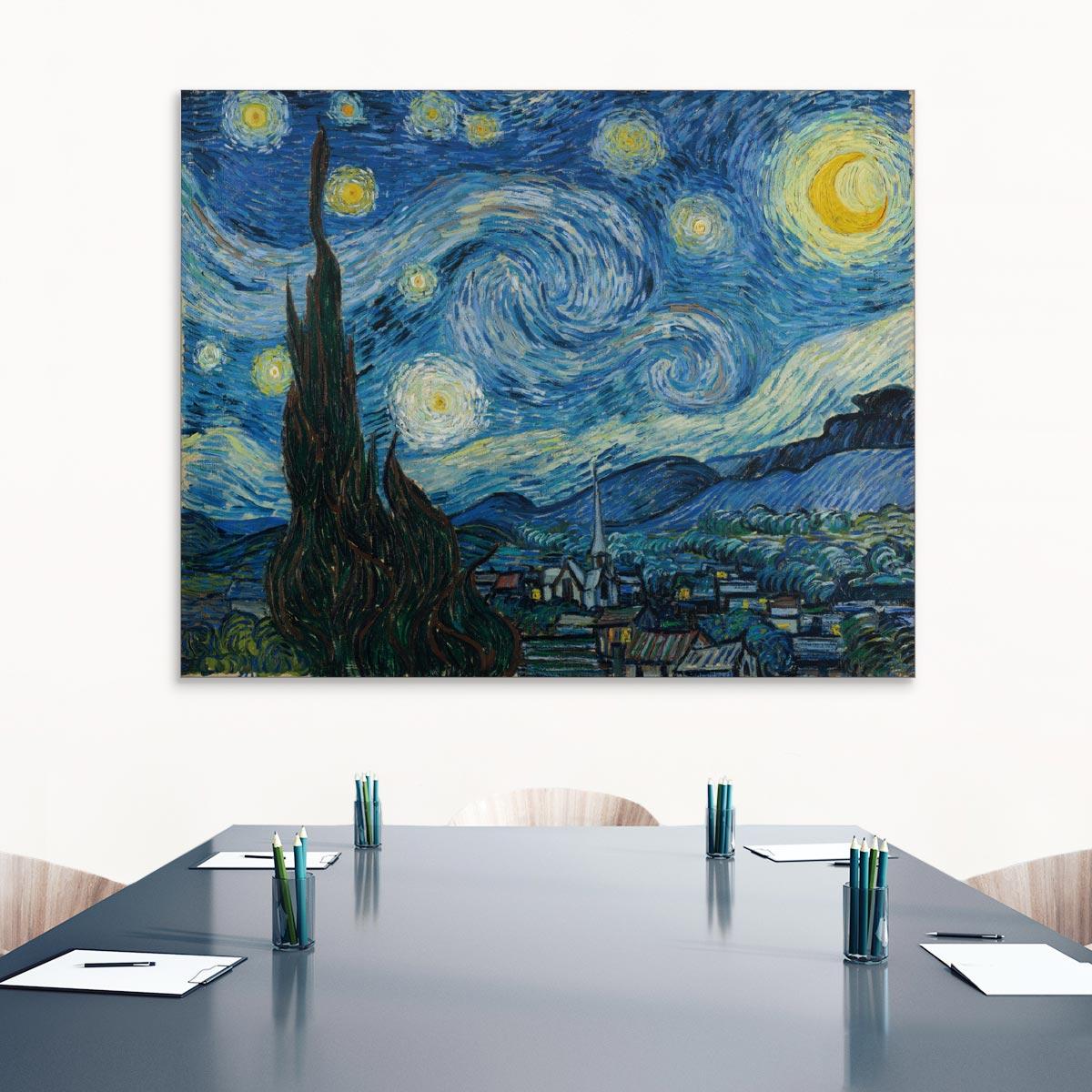 """Akustikbild """"Sternennacht"""", Vincent van Gogh"""