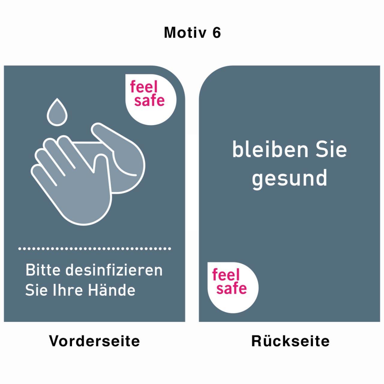 Desinfektionsständer - Motiv 6