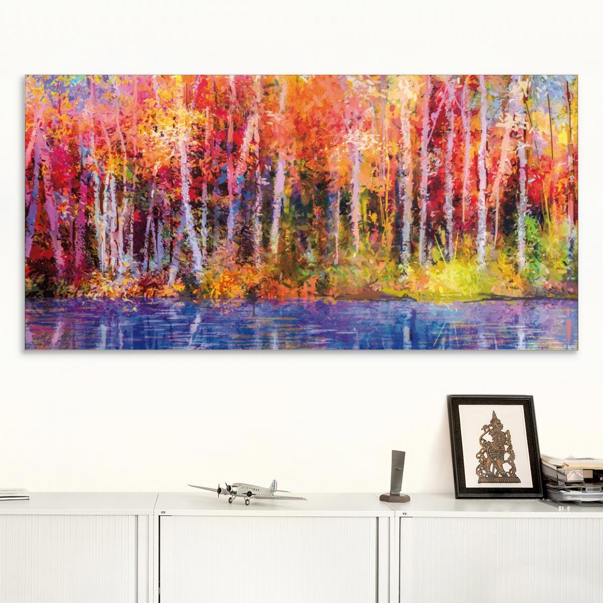 Akustikbild Espenwald in schillernden Farben