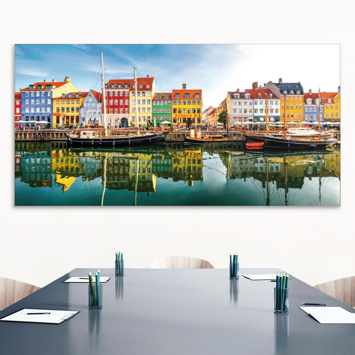 Akustikbild Kopenhagen, Nyhavn, Dänemark