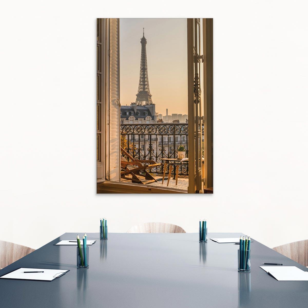 Akustikbild Paris, Eiffelturm, Frankreich
