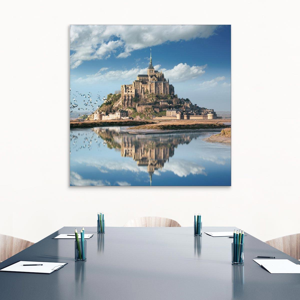 Akustikbild Mont St. Michel, Normandie, Frankreich