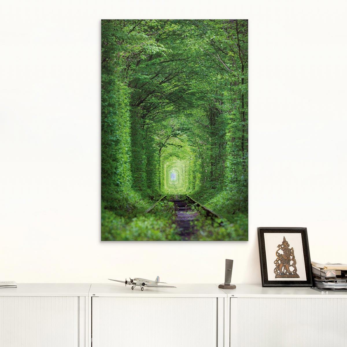 Akustikbild Der Tunnel der Liebe