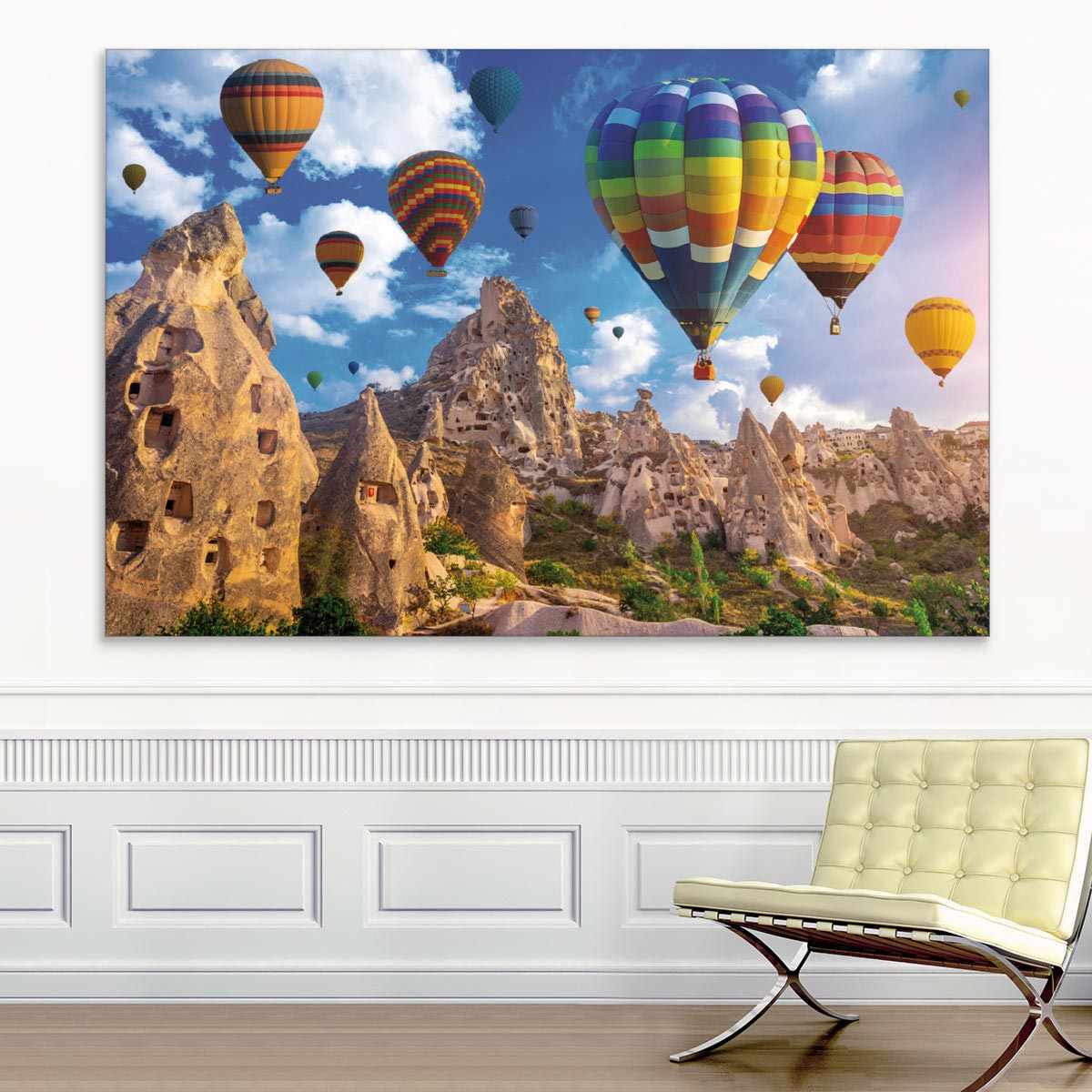 Akustikbild Ballons über Kappadokien I., Türkei