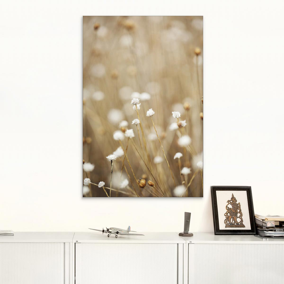 Akustikbild Feldblumen Wiese