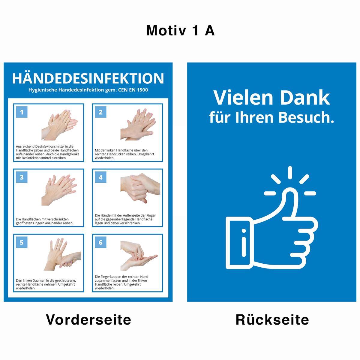 Desinfektionsständer - Motiv 1 A