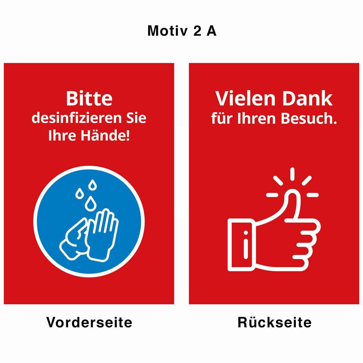 Desinfektionsständer - Motiv 2 A