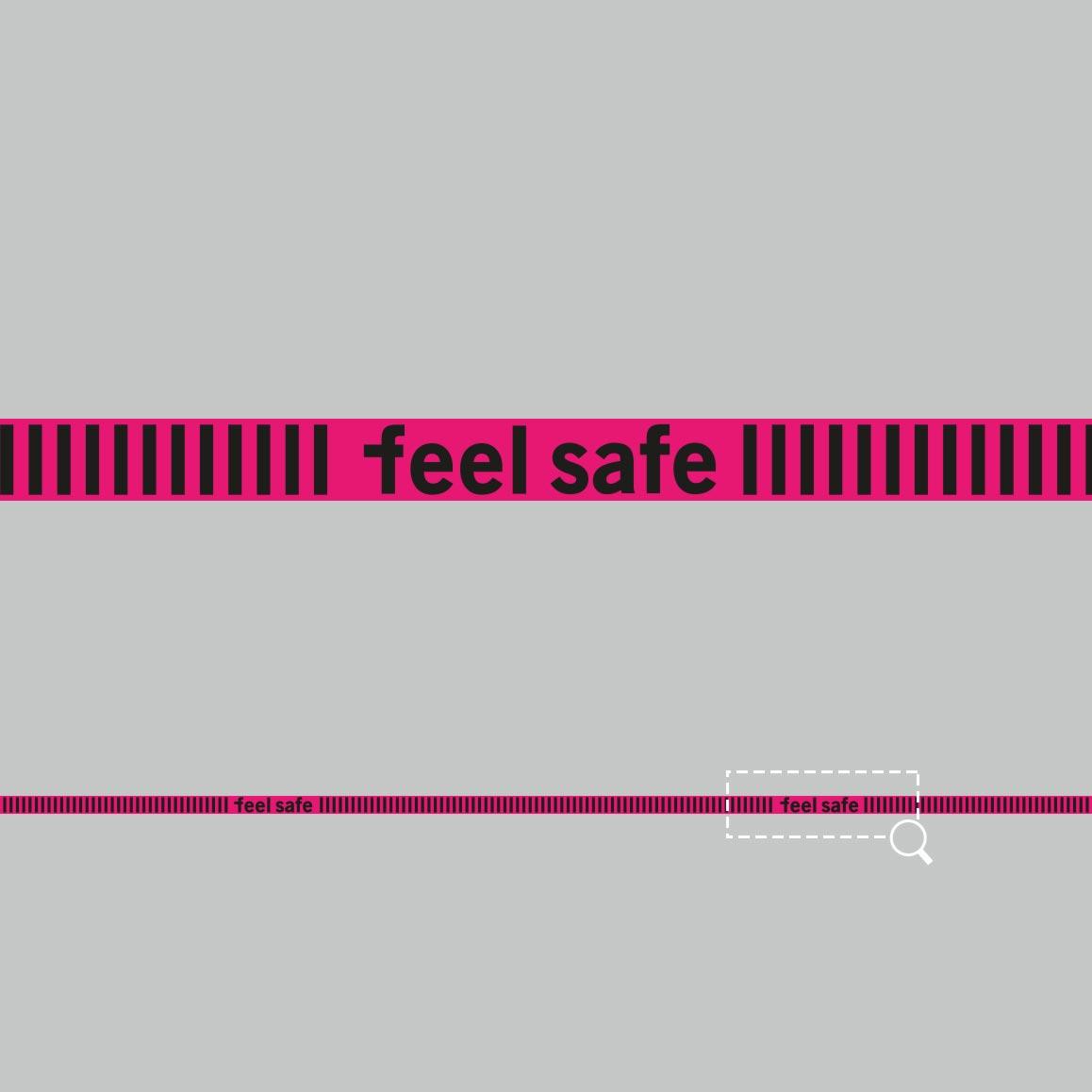 Fußboden-Klebeband 300x5cm»feel safe«