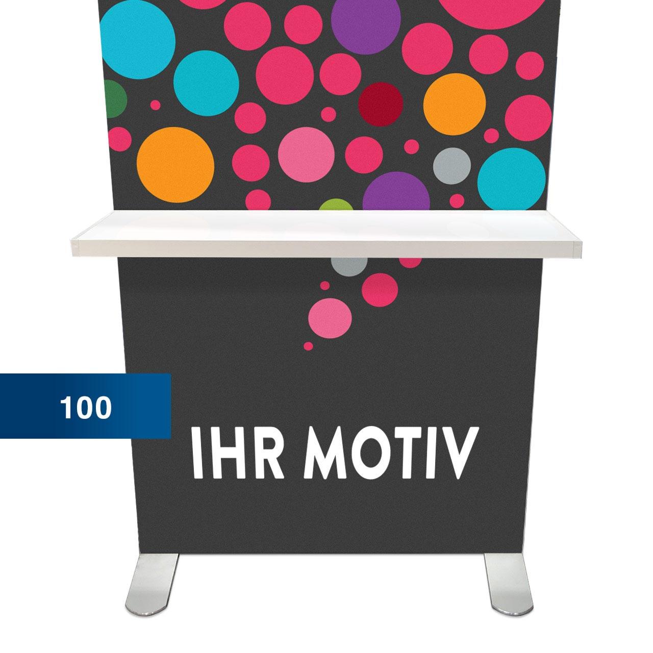 Regal für Mobile Light Box 100 – der mobile Leuchtkasten