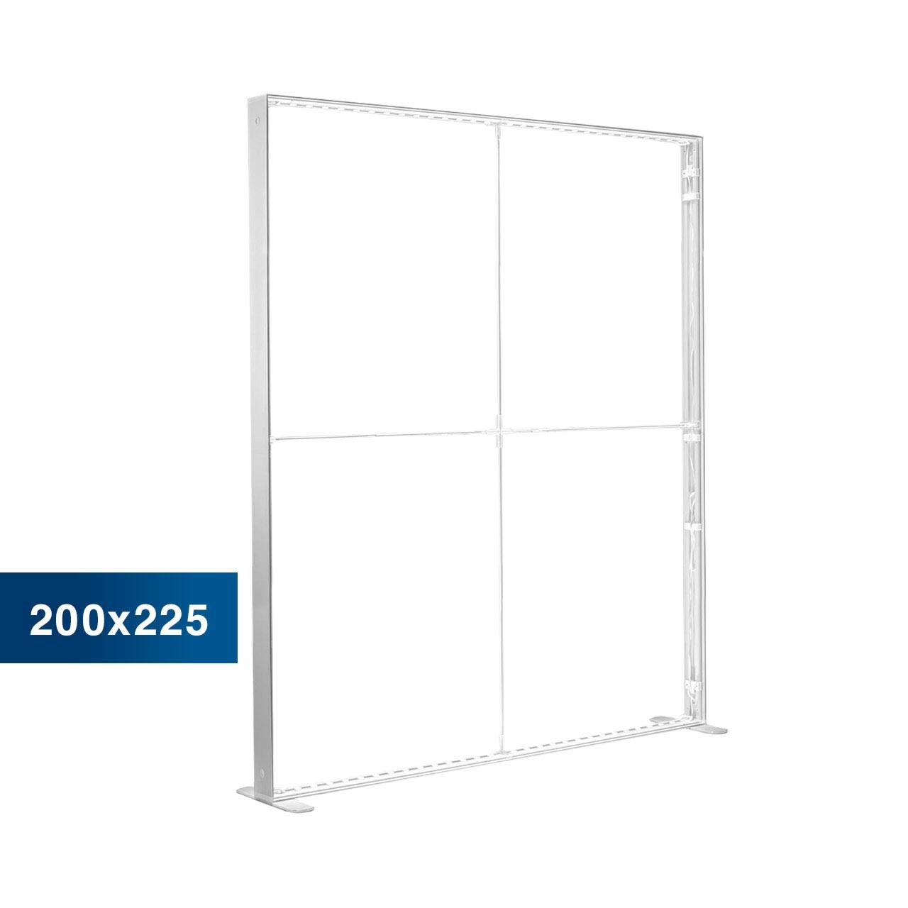Mobile Light Box im Format 200 × 225 cm ohne Textildruck