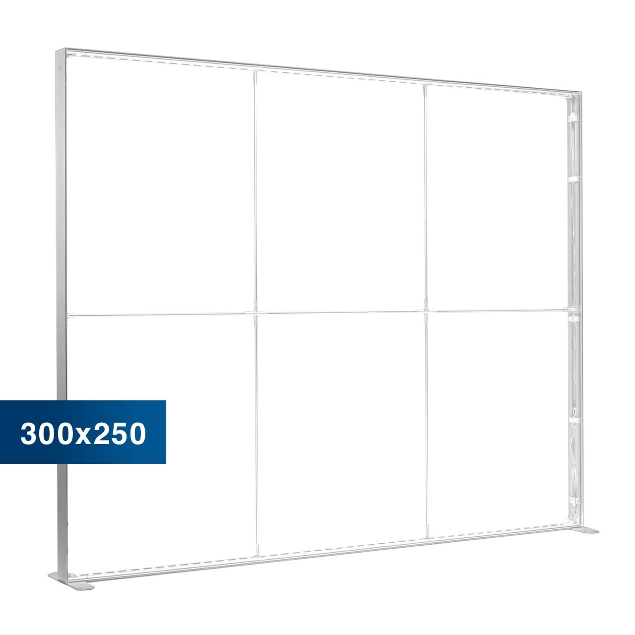Mobile Light Box im Format 300 × 250 cm ohne Textildruck