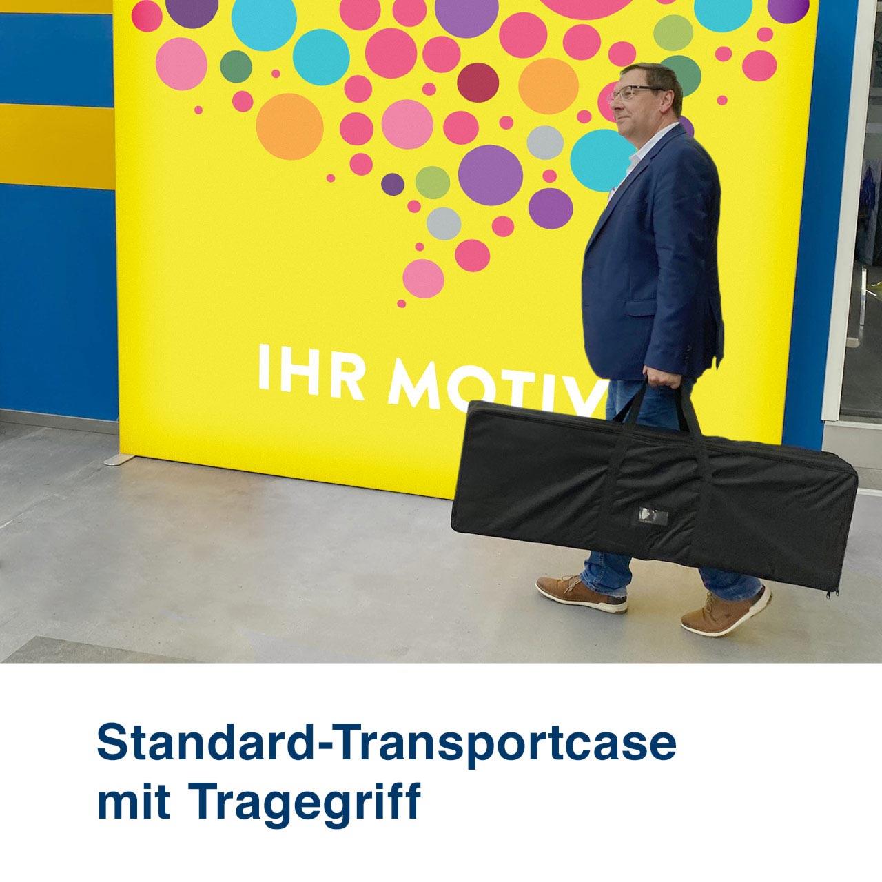 Mobile Light Box Transportcase Standard mit Tragegriffen