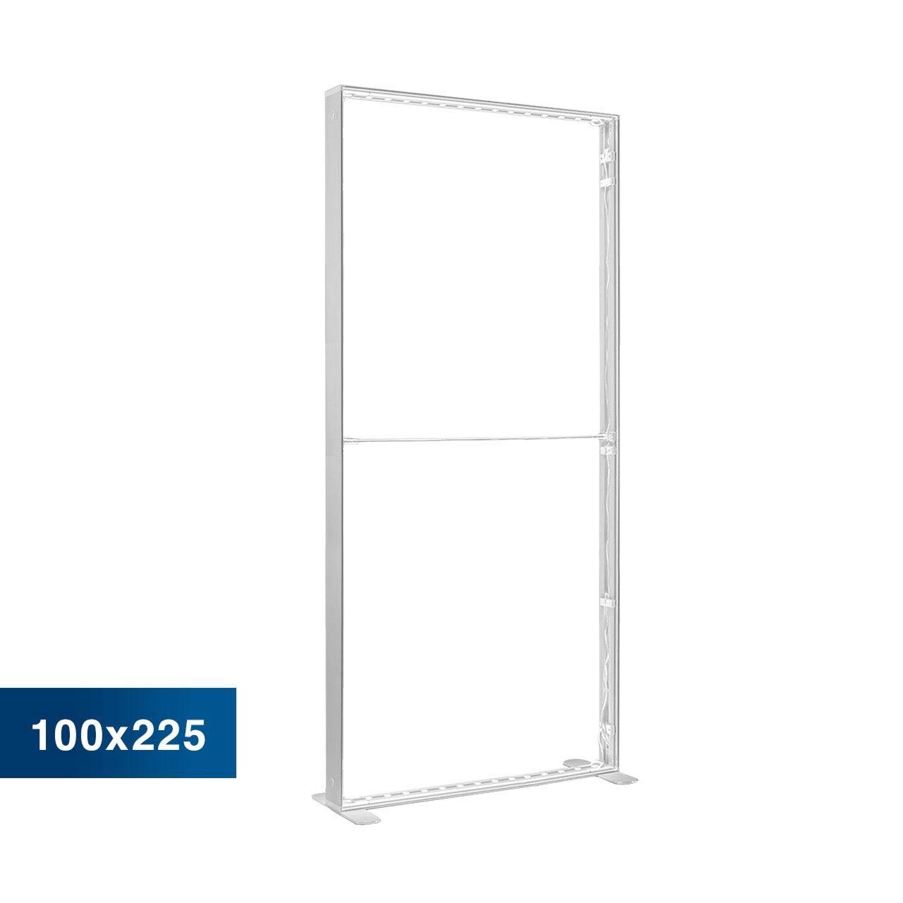 Mobile Light Box im Format 100 × 225 cm ohne Textildruck
