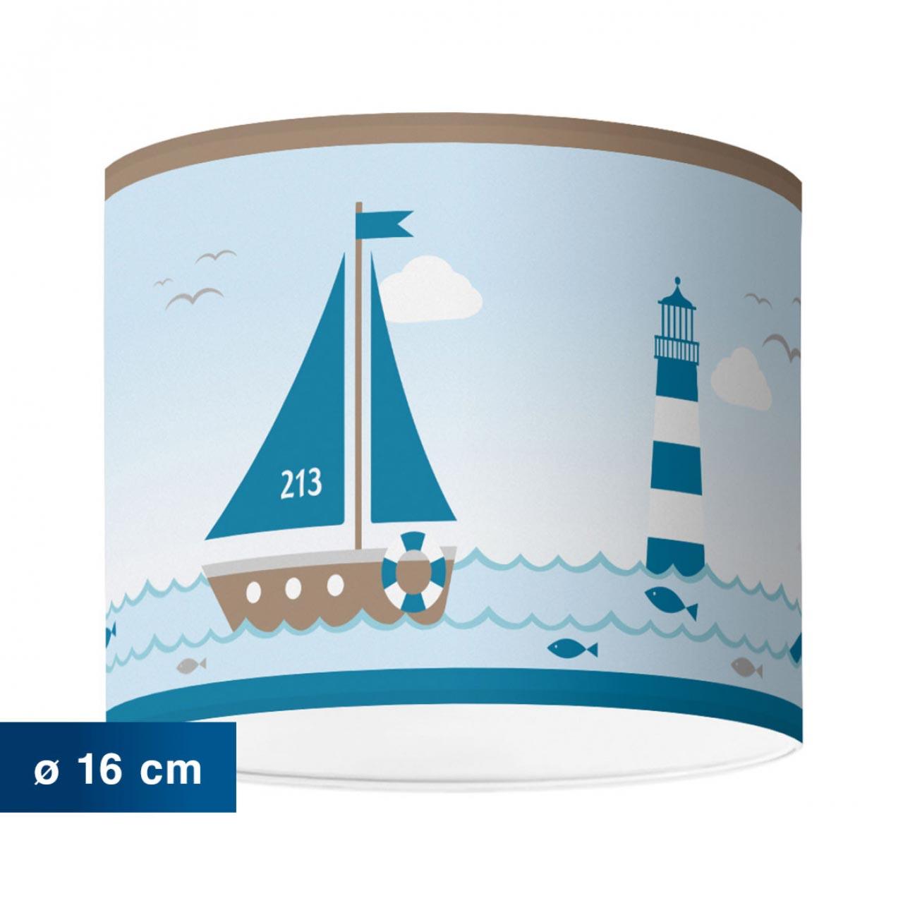 Kinderzimmerlampe im maritimen Design, Sailing Taupe