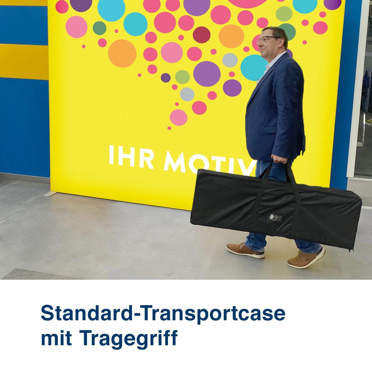 Mobile Light Box Transportcase Standard mit Tragegriffen