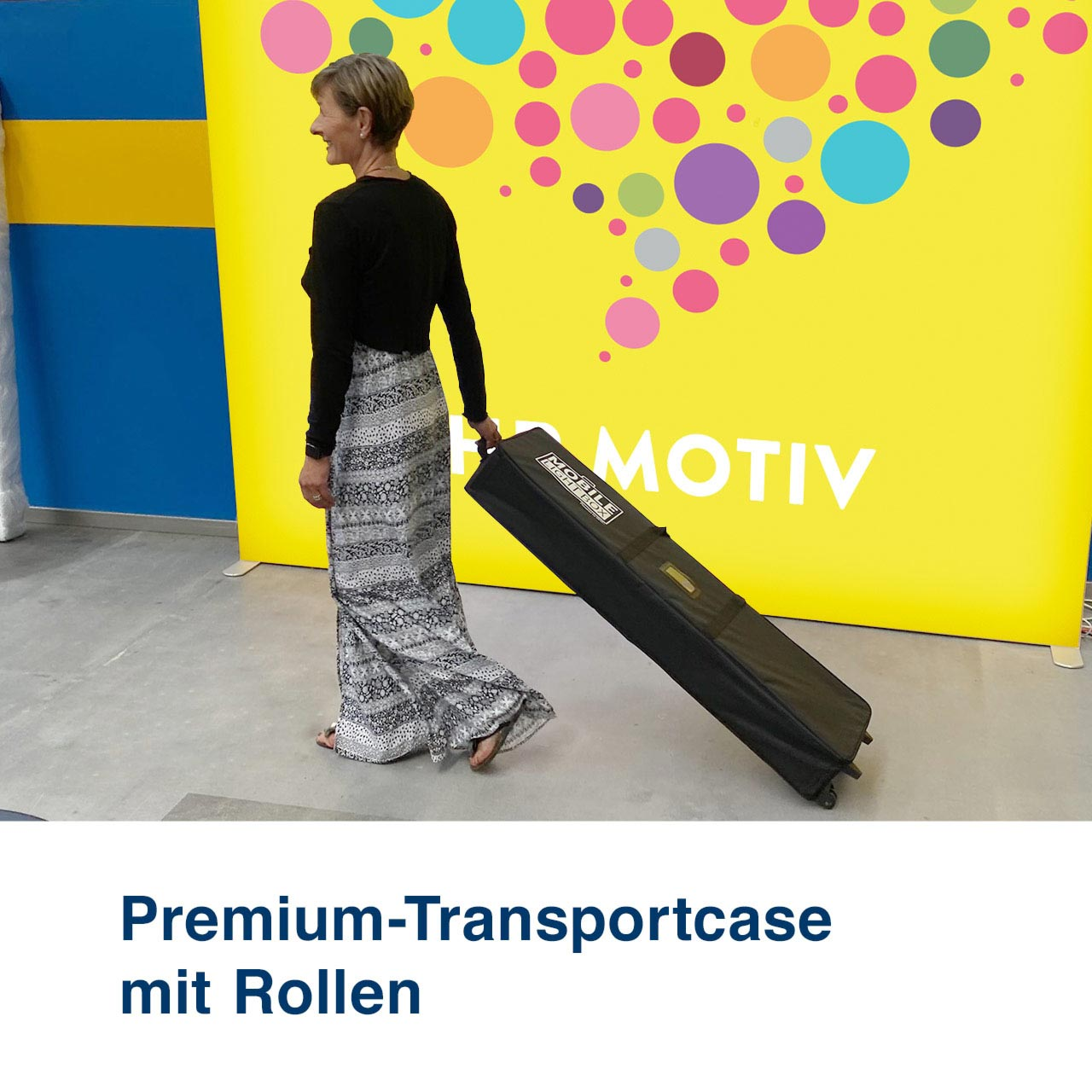 Mobile Light Box Transportcase Premium mit Rollen