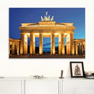 Akustikbild Brandenburger Tor bei Nacht, Berlin