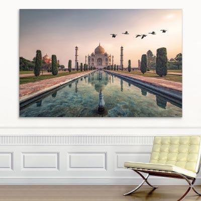 Akustikbild Agra, Taj Mahal, Indien