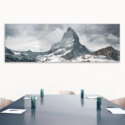 Akustikbild Matterhorn, Berg, Schweiz