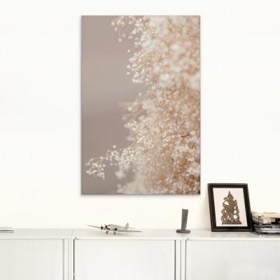 Akustikbild zarte Blütenpracht