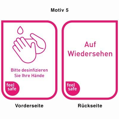 Desinfektionsständer - Motiv 5