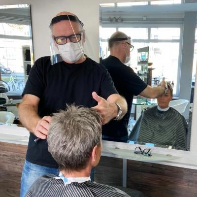 Klarsichtiger Gesichtsschutz 2.0