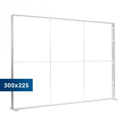 Mobile Light Box im Format 300 × 225 cm ohne Textildruck