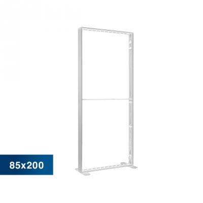 Mobile Light Box im Format 85 × 200 cm ohne Textildruck