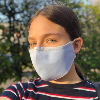 Behelfsmäßige Mehrweg Mund-Nasen-Maske