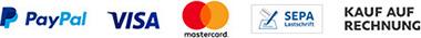 Zahlungsmöglichkeiten in unseren Online-Shop